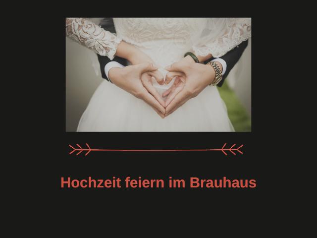 Hochzeit im alten Brauhaus