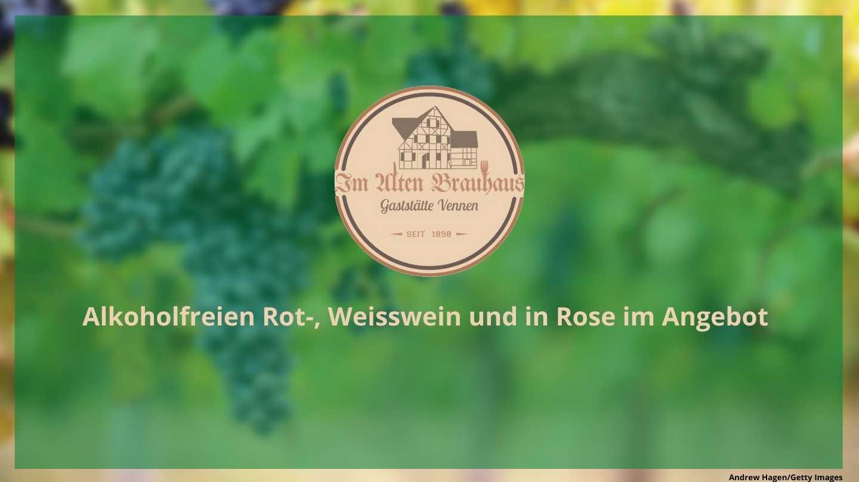 Alkoholfreier Wein bei Vennen